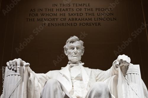 Pomnik Lincolna Memorial Bliska
