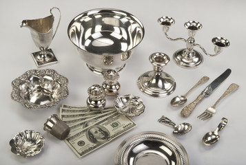 Scrap Silver sell today for big money.