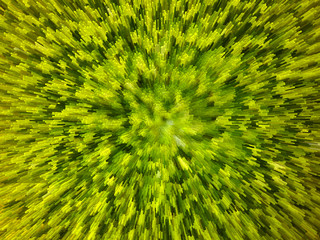 green background with abstract stripes