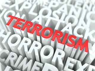 Terrorism Concept.