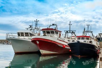 Fishing Boats Garrucha Harbor, Almeria, Andalusia, Spain
