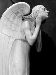 Statua di un angelo
