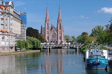 St. Paul Church in Strasburg, France