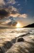 Coucher de soleil à la plage de Grand Anse - Ile de la Réunion