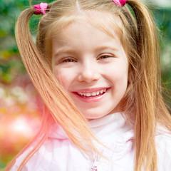 happy liitle girl