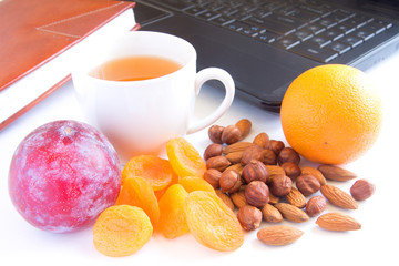 Healthy snack in office