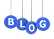 Blog Word On Hanged Tags