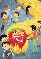 fiesta del dragón