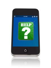 Smartphone mit Hilfe App
