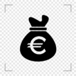Euro Moneybag Icon