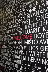 Welcome in many different language s from around the world