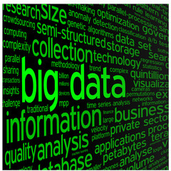 """""""BIG DATA"""" Tag Cloud (storage information technology access)"""