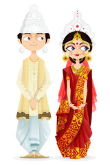 Bengali Wedding Couple