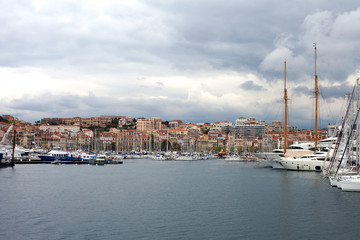 Cannes city.