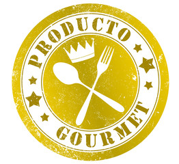 Gourmet product stamp