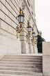 Gold Leaf Plated Lanterns At EPA Building In DC