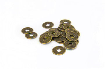 китайские монеты древности