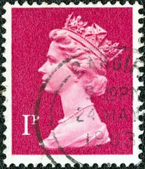 Queen Elizabeth II (United Kingdom 1971)