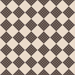 Seamless retro squares background