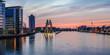 Fototapeten,skyline,berlin,sonnenuntergang,deutschland