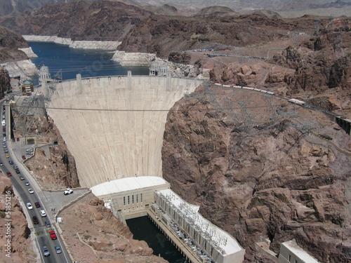 Spoed canvasdoek 2cm dik Dam Boulder Dam