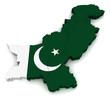 3D Map of Pakistan