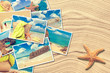 canvas print picture - Vacation Postcards