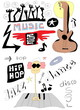 Doodle music background
