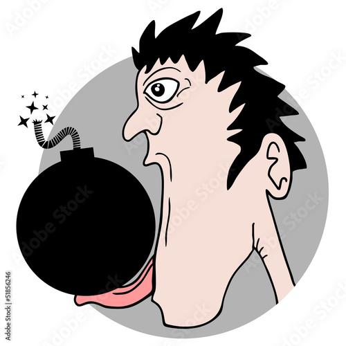 Funny crazy bomb
