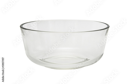 Empty bowl isolated