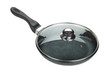 Frying pan with glass cover