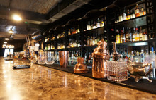 "Постер, картина, фотообои ""Classic bar counter"""