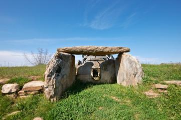 Thracian dolmen near Edirne, Turkey