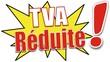 étiquette TVA réduite