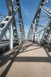 Part of Dutch truss bridges