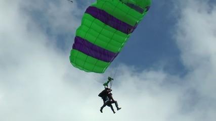 tendem en parachute