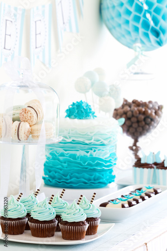 In de dag Buffet, Bar Dessert table