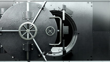 Opening bank solid vault