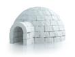 Isolated igloo