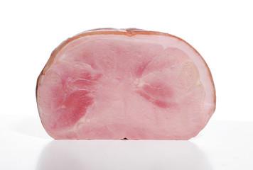 Porción de jamón cocido Italiano.