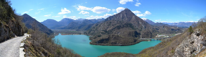 Lago di Cavazzo - Panorama