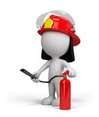 3d person – fireman