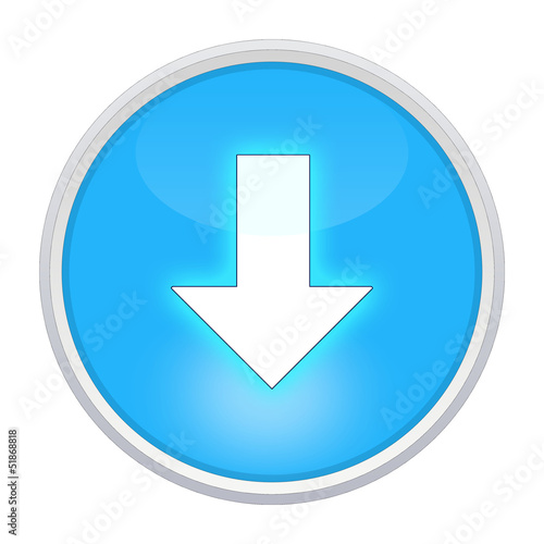 download button blau