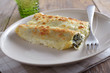 Cannelloni with spinach