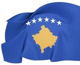 Flag of Kosovo poster