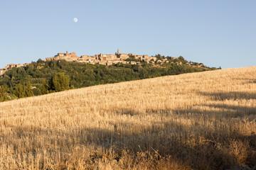 Panorama of Montepulciano, Tuscany, Italy