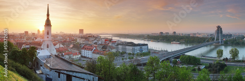 Fototapeten,bratislava,panorama,donau,panoramic