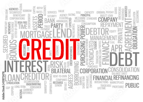 CREDIT Tag Cloud (interest rate mortgage loan finance bank debt)