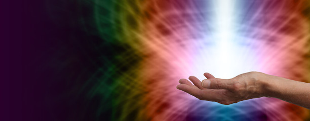Healing light Website Banner Head