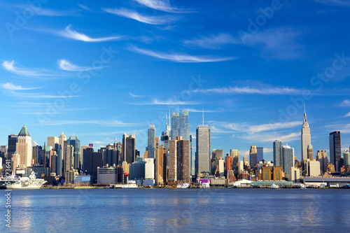 Skyscrapers of Manhattan, New York City